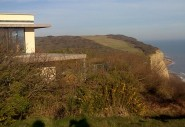 The Bunker - out of place in the Country Park.