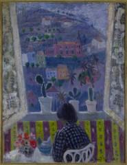 Anne Redpath, Window In Menton, 1948 copyright The Artist's Estate/Bridgeman Art Library. Courtesy Fleming-Wyfold Foundation