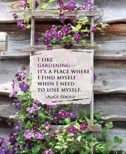 Hurrah for gardening!