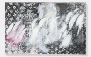 Rachel Howard, Cat Amongst the Pigeons, 2015