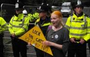 Anti-fracker, Vivienne Westwood Photo ZR