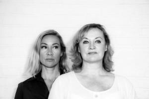 Kiss Off Saturday 19 September (L-R) Jane Brooman and Heather Alexander Photo © Maxine Simmonds
