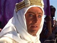 Peter O Toole in Lawrence of Arabia