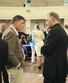 Robert Draper and Steve Dean, Leader of Winchester Consort