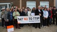 Anti-TTIP campaigners