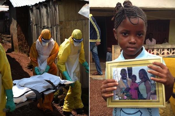 Ebola orphans