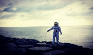 Image of man in spacesuit