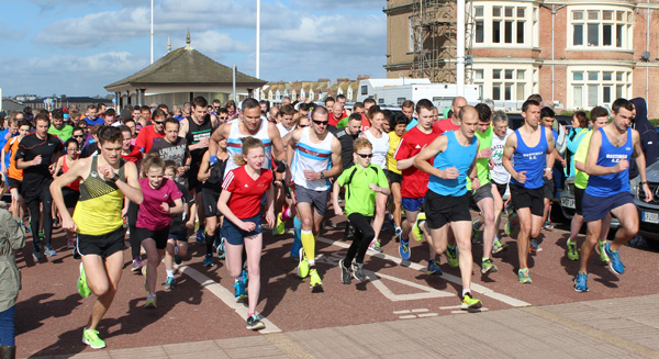 The very first Hastings Park Run on Saturday 18 April this year