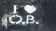 Observer Building Graffiti