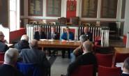 MP Amber Rudd speaks at the Marshlink rail community partnership AGM.