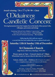 Midwinter Candlelit Concert Poster