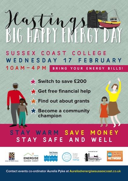 Hastings Big Happy Energy Day