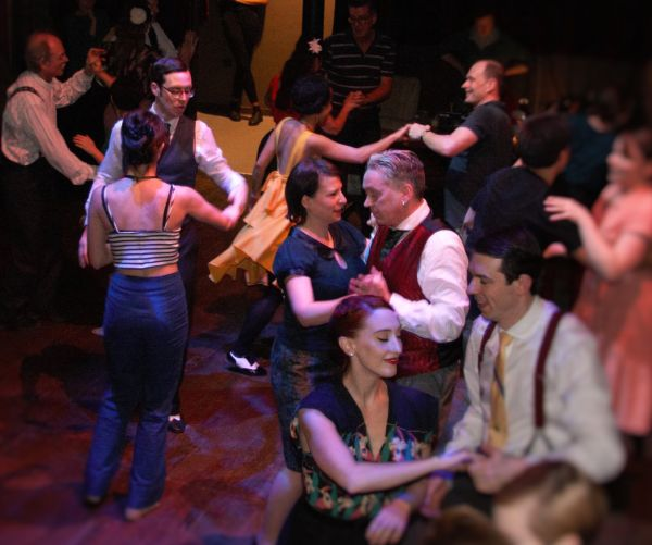 Swing Dancing in Hoxton Town Hall photo:Kafil Din