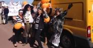 Chestnut Tree House volunteers at Eastbourne Carnival