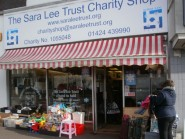 Sara Lee Trust's Silevrhill charity shop.