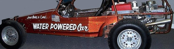 Water dune buggy Water Powered Car website