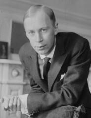 Sergei Prokofiev in New York, 1918