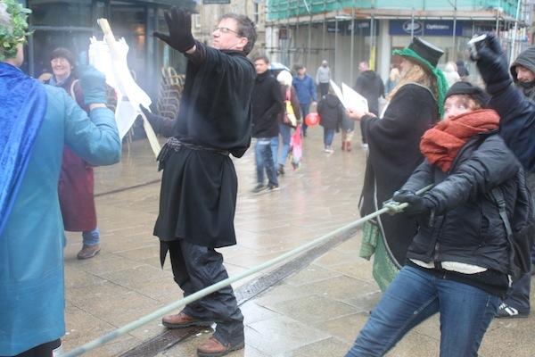 TUG O' WAR between fossil fuels and alternatives Photo Sarah MacBeth