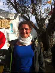 Camilla a Volunteer at Better Days For Moria