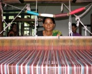 A handloom as used by the Muhugathi group in Nepal.