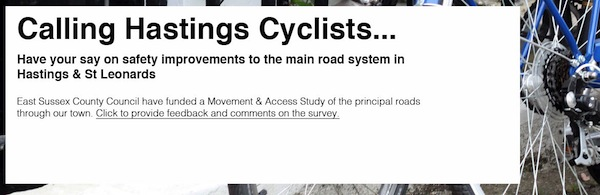 HUB call out to local cyclists