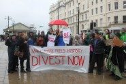 Local campaigners from Fossil Fuel Free Hastings