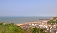 HASTINGS BATHING WATERS FROM EAST HILL160226