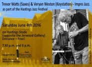 Veryan Weston (Keystation) & Trevor Watts (Saxes)