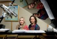 Eugenia Startseva ® and Susannah Appleyard (L)