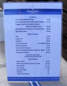 Maggie's menu (2)