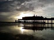 Pier at dusk 1