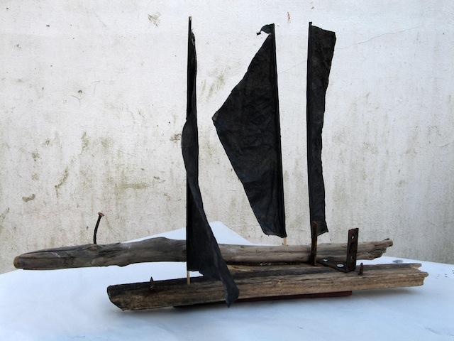 Sea Crossing Maggie's boat