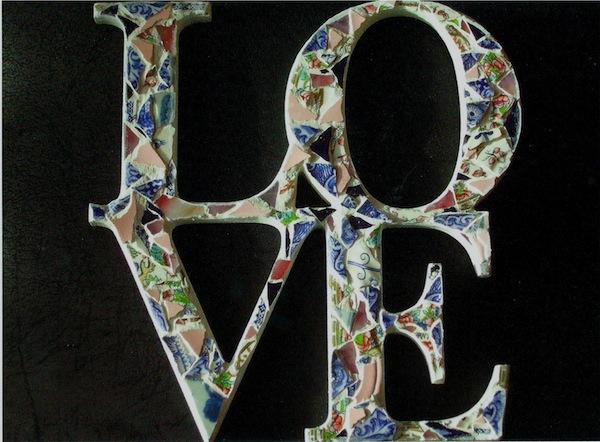 Love : Mosaic Malarky by Emma Law