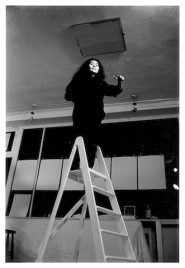 (c) Graham Keen - Yoko Ono Ceiling Work London 1966a