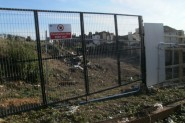 The construction site at the end of West Hill Road in St Leonards - questions have been asked about how development could begin 28 years after planning permission was granted.