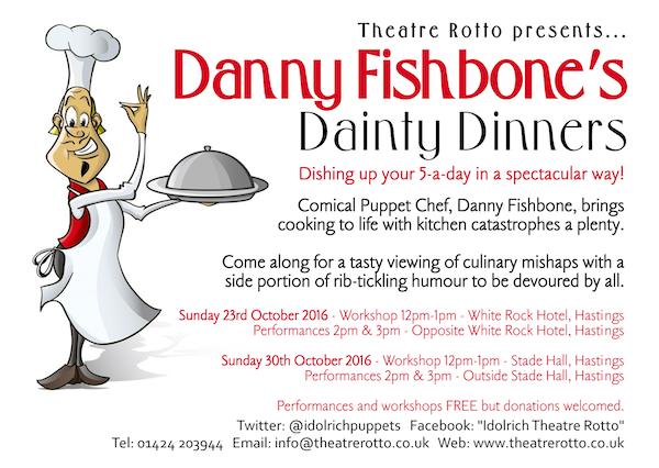 Danny Fishbone's Dainty Dinners