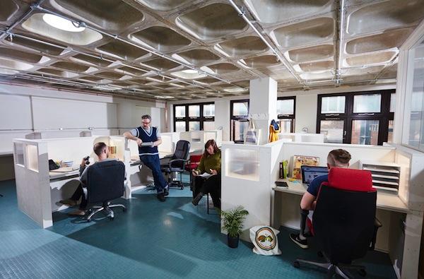 Rock House desk spaces