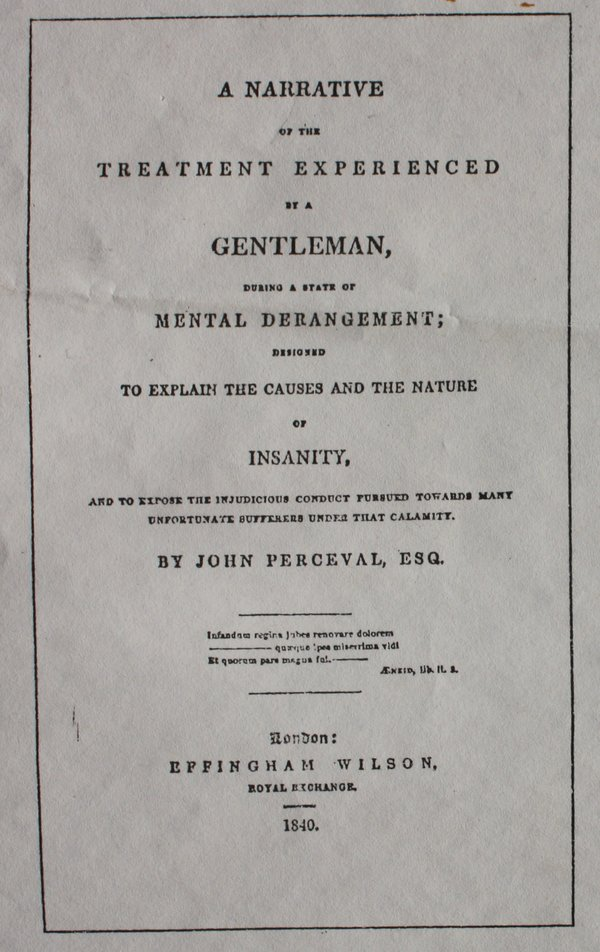 John Perceval's Narrative