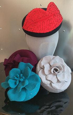 Hats by Caroline Morris
