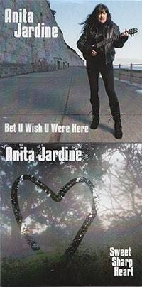 Anita Jardine Album Sweet Sharp Heart and Bet U wish U were here