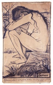 Sorrow Van Gogh, Public Domain