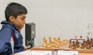 Ramesh Praggnanandhaa, 11 - the world's youngest International Master (photo: Brendan O'Gorman).