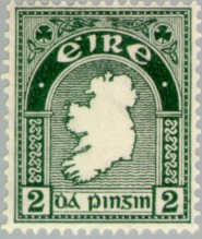 Map_of_Ireland-_first_Irish_postage_stamp