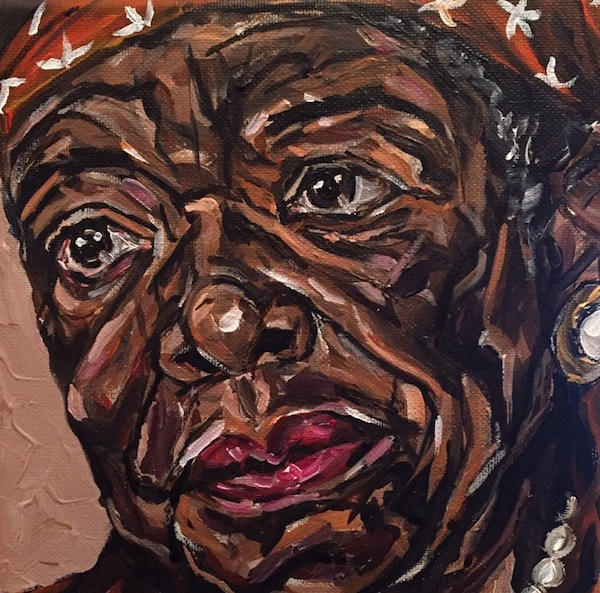 Maya Angelou by Thom Kofoed