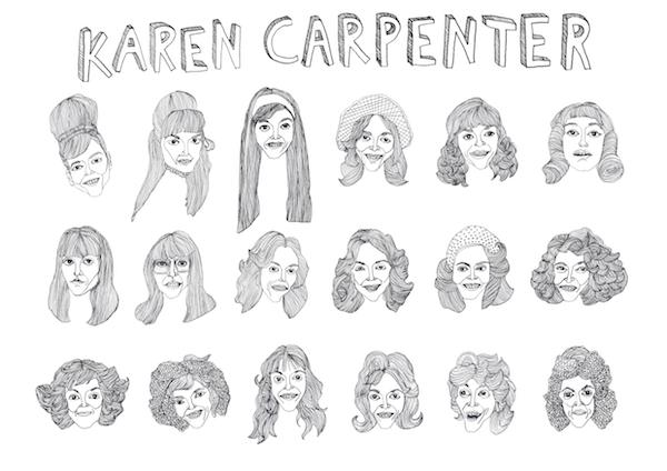 Karen Carpernter by Thom Kofoed