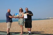 Blue Flag + Beach award Pic 0617