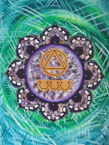 Soul Destiny Mandala by Christina Macadam.