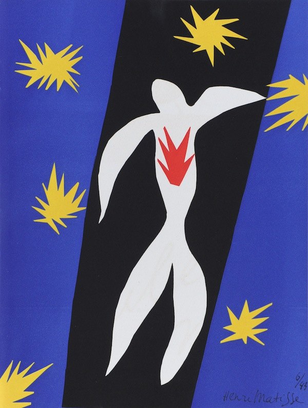 The Fall of Icarus by Henri Matisse
