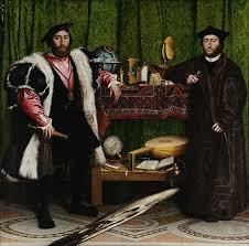 Image: http://arthistoryblogger.blogspot.co.uk/2012/06/holbeins-ambassadors.html