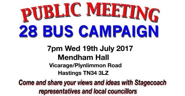 Save Bus 28 Campaign